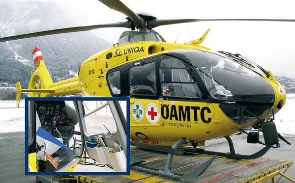GS8-70应用于救援直升机