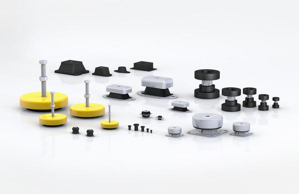 橡胶-金属隔振器