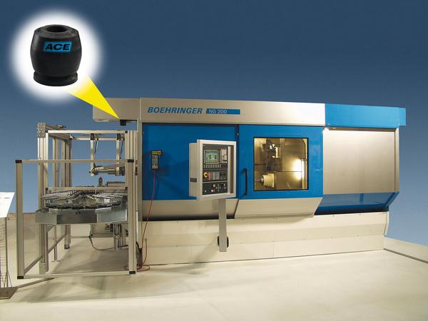 TUBUS-TA系列应用于车床