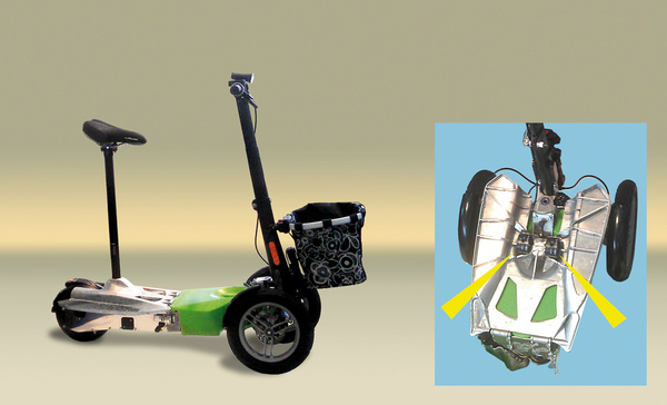 TUBUS-TR应用于电动滑板车