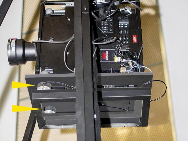 PLM应用于投影仪,震动隔离