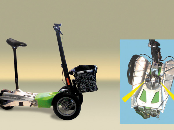 TUBUS-TR - 应用于电动滑板车
